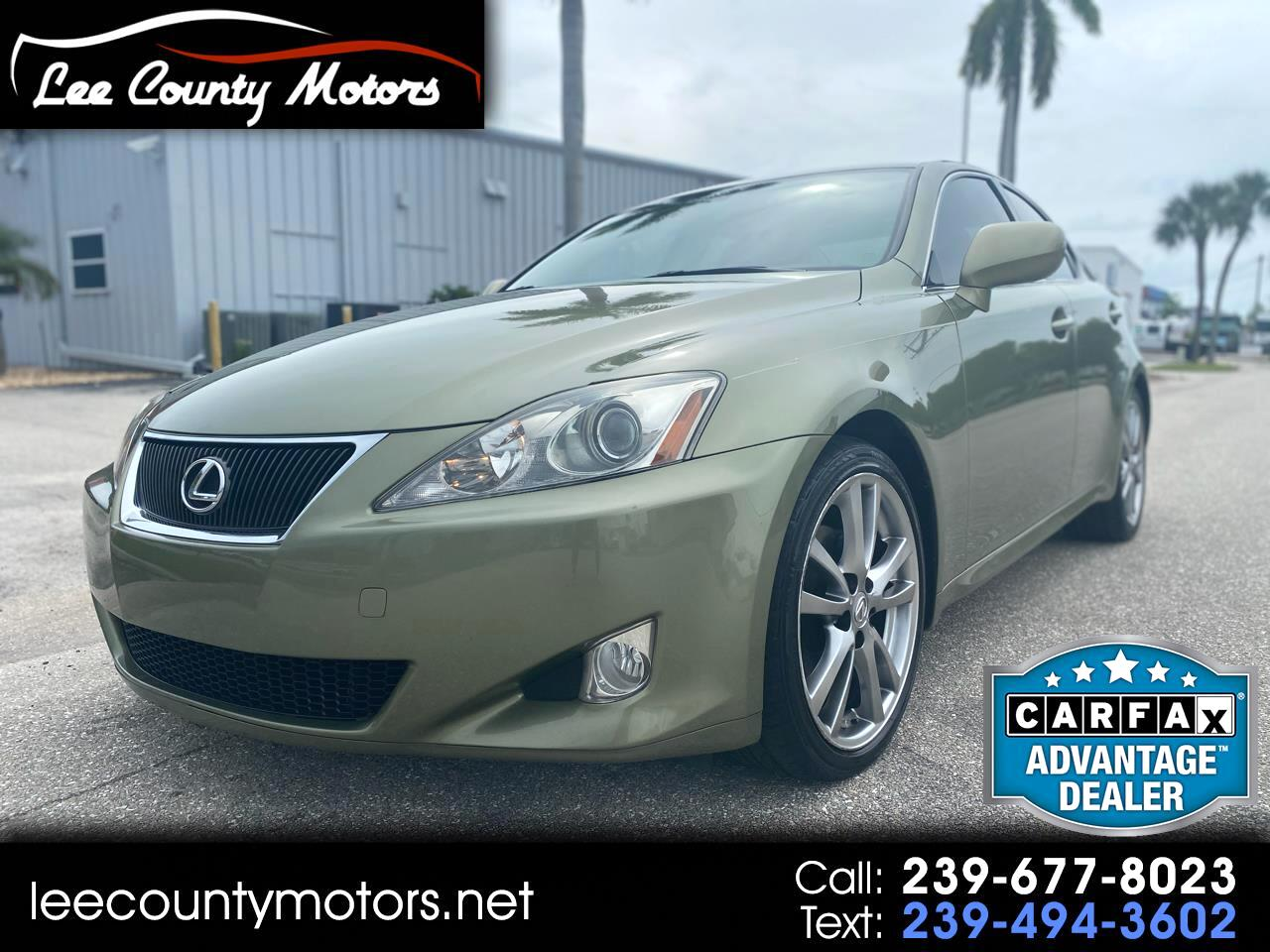 Lexus IS 250 4dr Sport Sdn Auto 2008