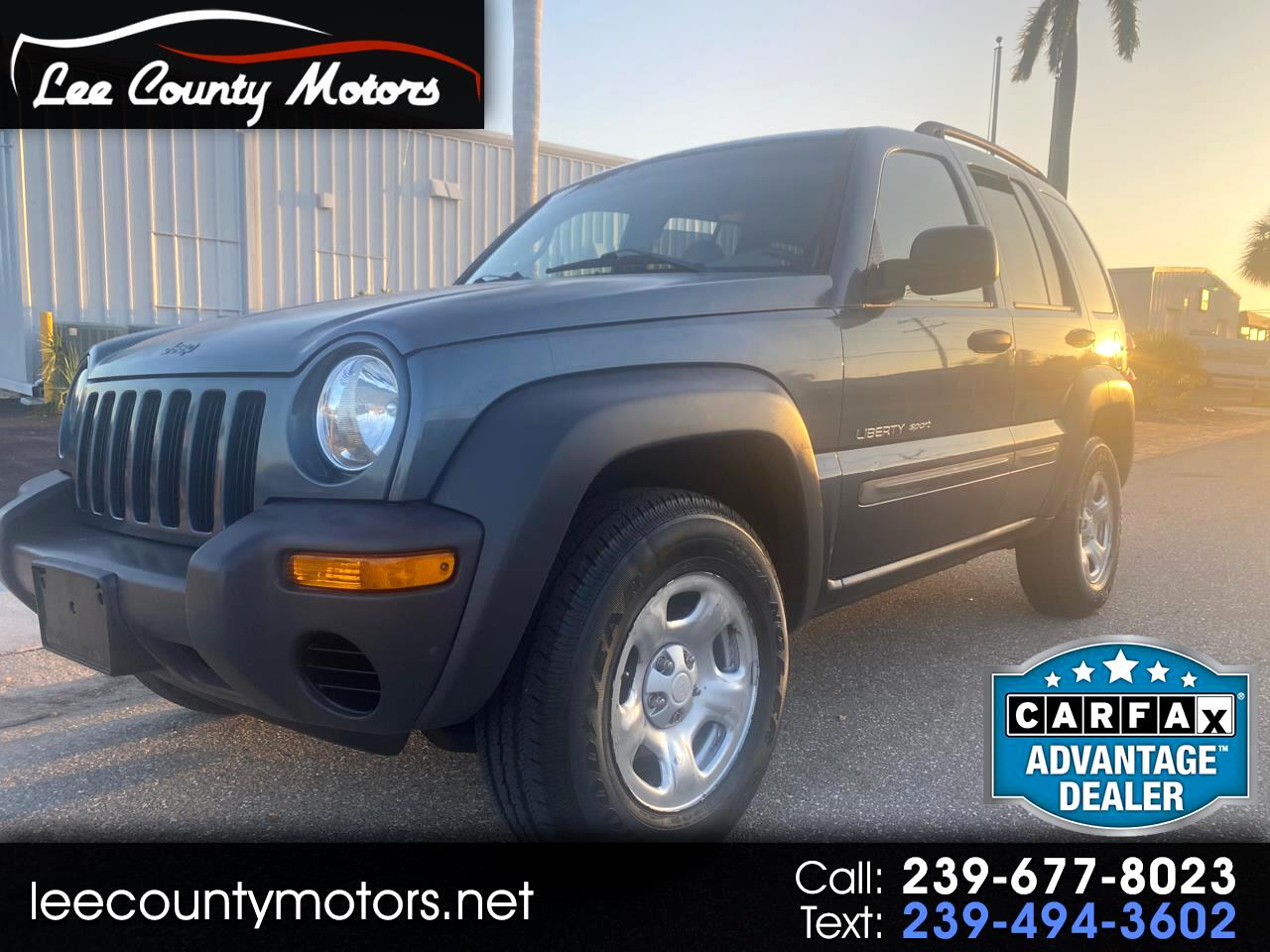 Jeep Liberty 4dr Sport 4WD 2002