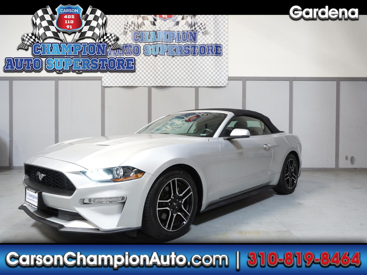 2018 Ford Mustang 2dr Conv EcoBoost Premium
