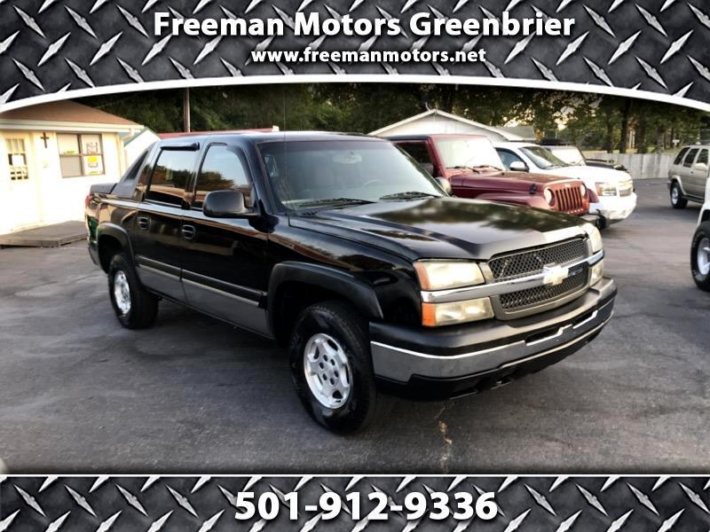 2004 Chevrolet Trucks Avalanche 1500 4WD