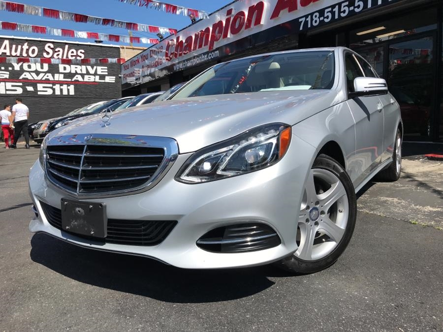 2016 Mercedes-Benz E-Class E350 Luxury 4MATIC Sedan