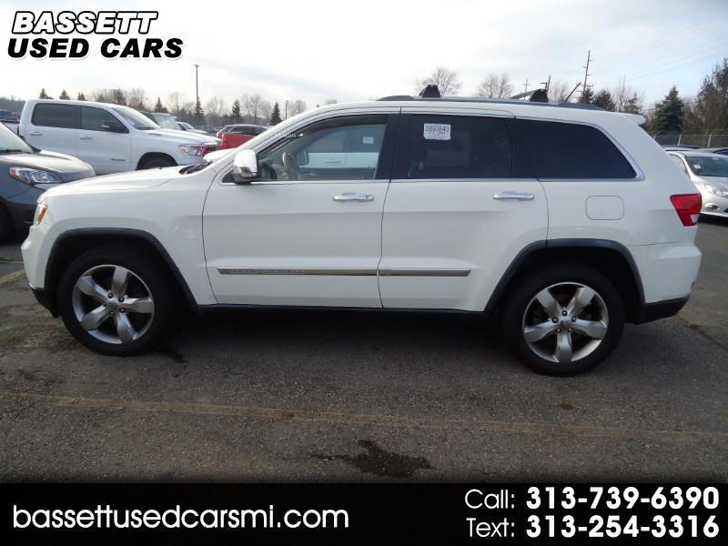 Jeep Grand Cherokee Overland 4WD 2012