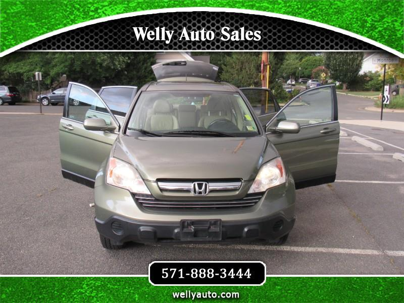 2007 Honda CR-V EX-L 4WD 5-Speed AT with Navigation