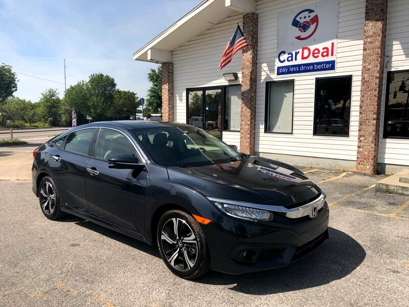 2018 Honda Civic Touring Sedan CVT