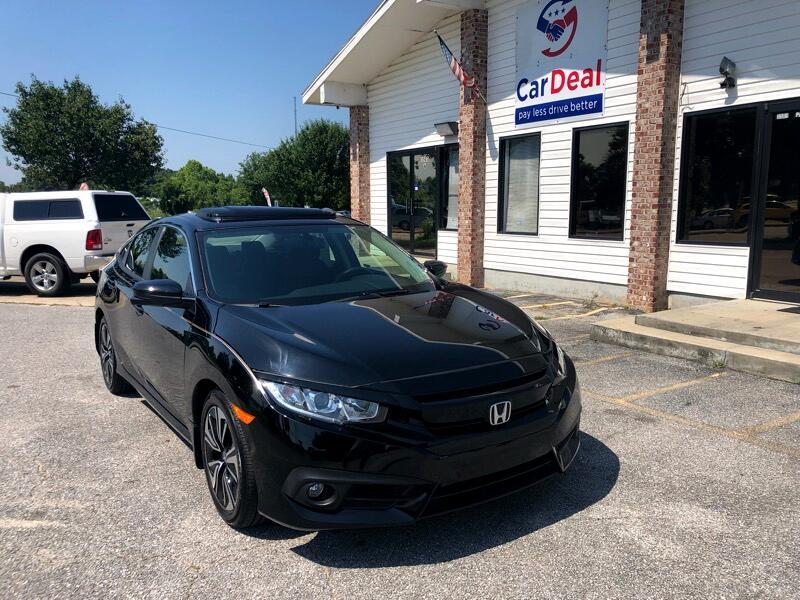 2018 Honda Civic EX-T Sedan CVT