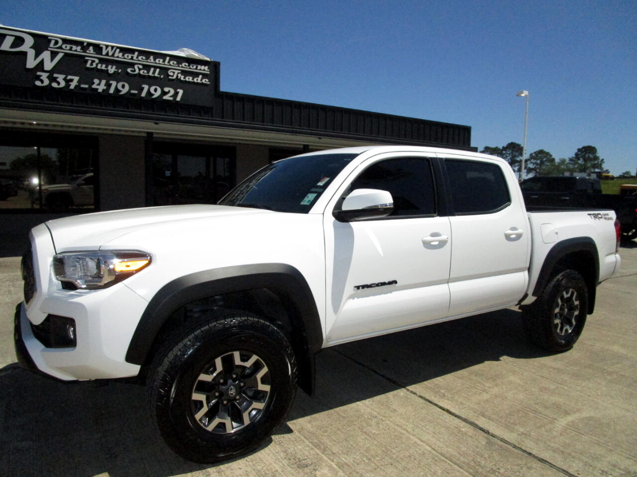 2018 Toyota Tacoma SR5 Double Cab Long Bed V6 6AT 2WD