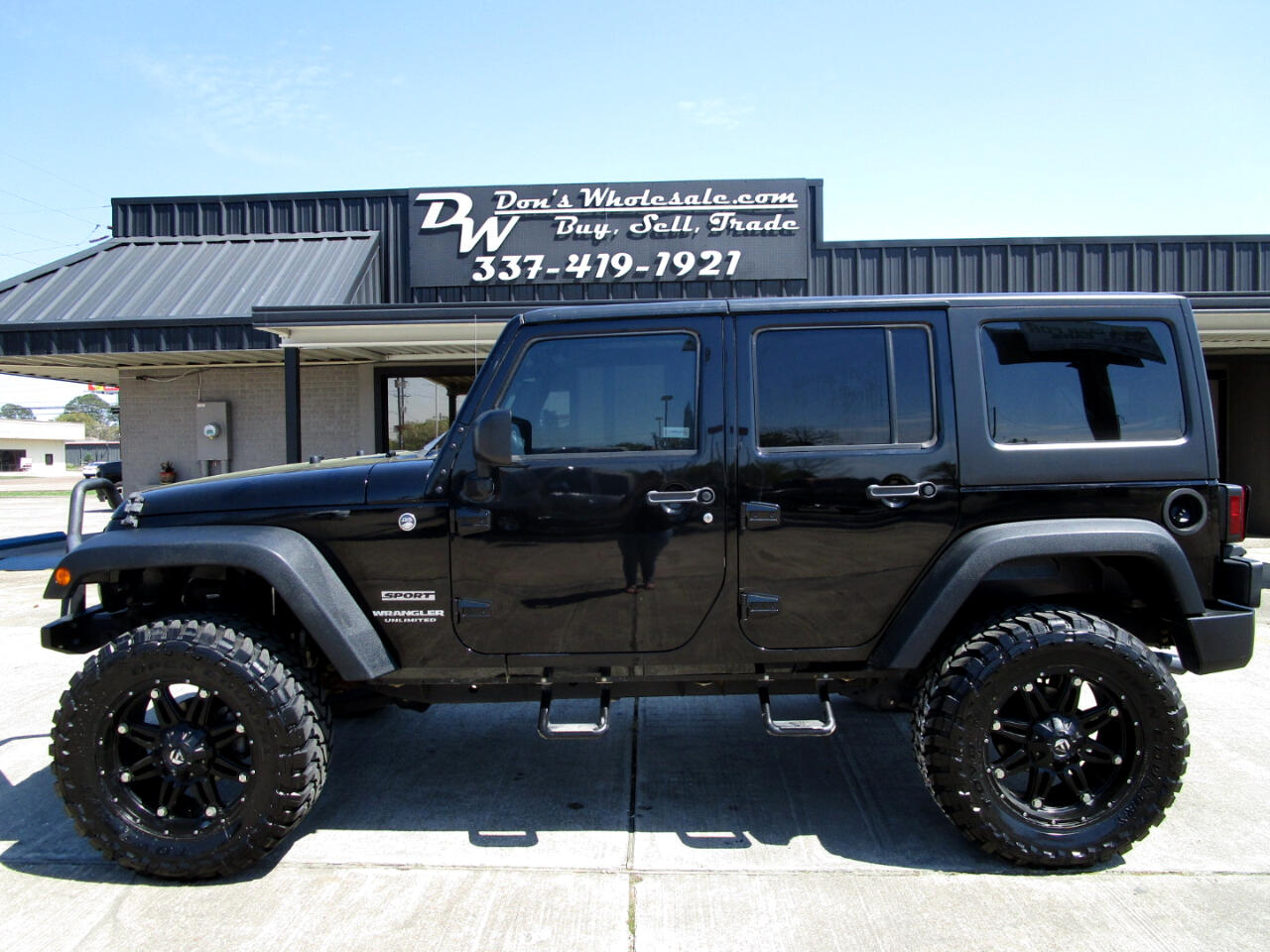 Jeep Wrangler Unlimited Sport 4WD 2015