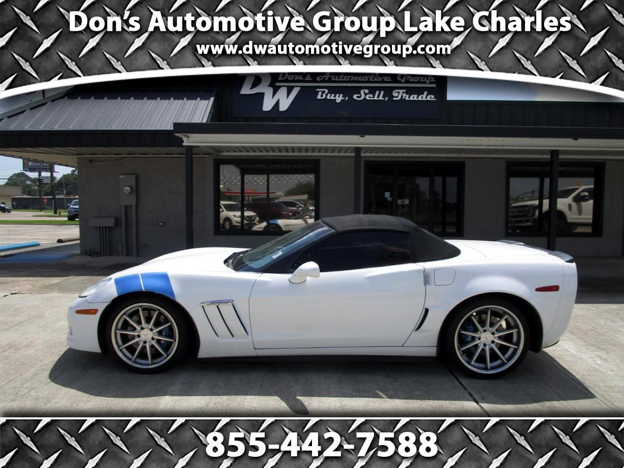 Chevrolet Corvette GS Convertible 3LT 2011