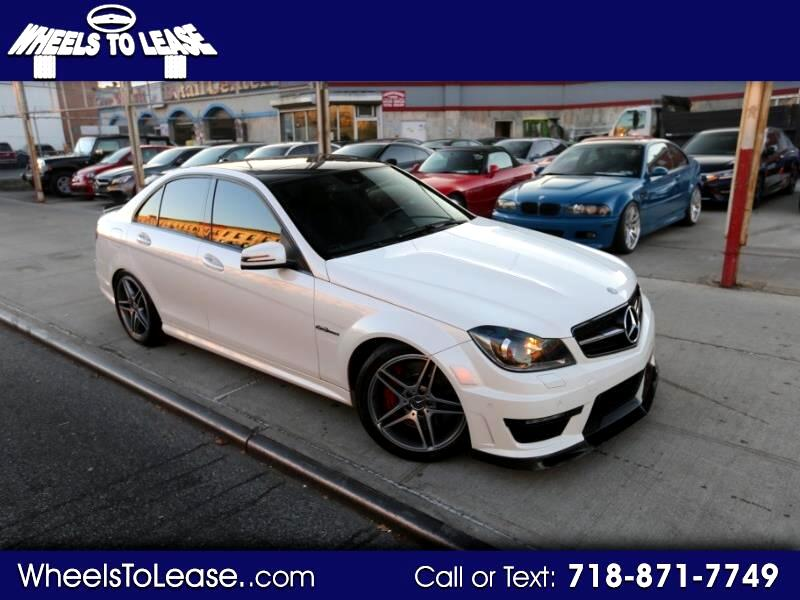 2012 Mercedes-Benz C-Class C63 AMG Sport Sedan