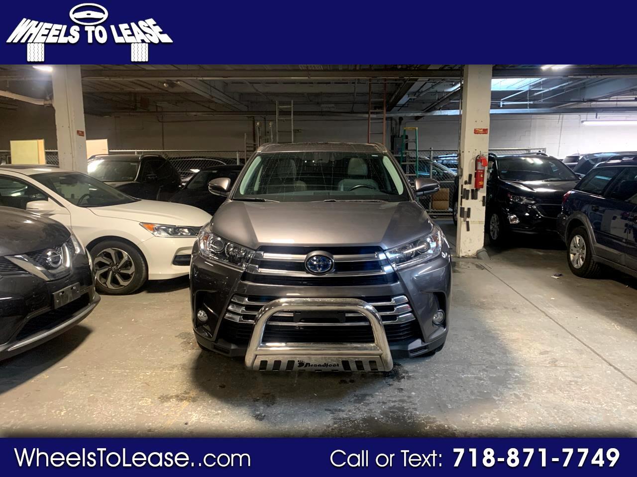 2017 Toyota Highlander Hybrid Limited Platinum AWD