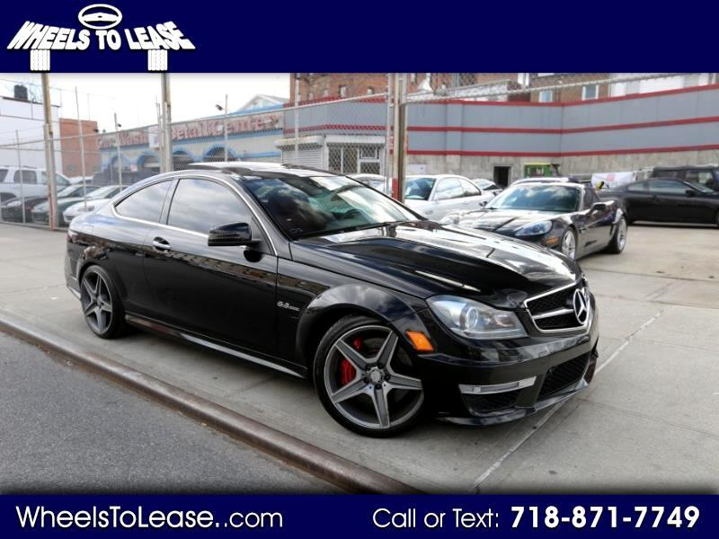 2013 Mercedes-Benz C-Class C63 AMG Coupe