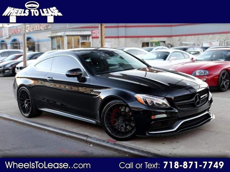 2017 Mercedes-Benz C-Class AMG63 S Coupe