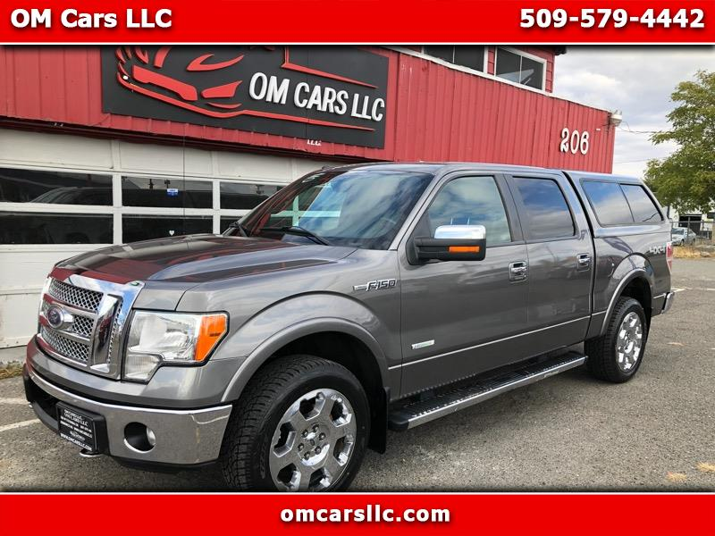 2011 Ford F-150 Lariat 4WD SuperCrew 5.5' Box