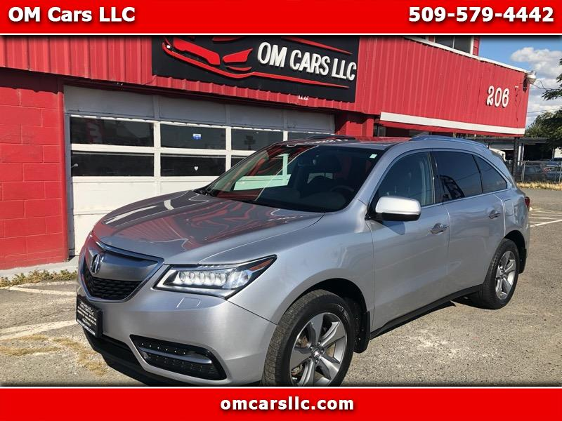 2014 Acura MDX SH-AWD 6-Spd AT w/Tech and Entertainment Package