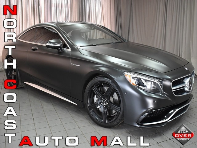 2015 Mercedes-Benz S-Class 2dr Coupe S 63 AMG 4MATIC