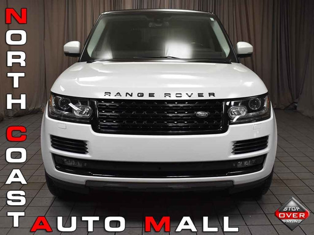 2015 Land Rover Range Rover 4WD 4dr Supercharged / Rear Entertainment / Driver