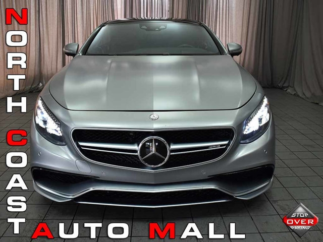 2015 Mercedes-Benz S-Class 2dr Coupe S 63 AMG 4MATIC Edition One Carbon Ceram