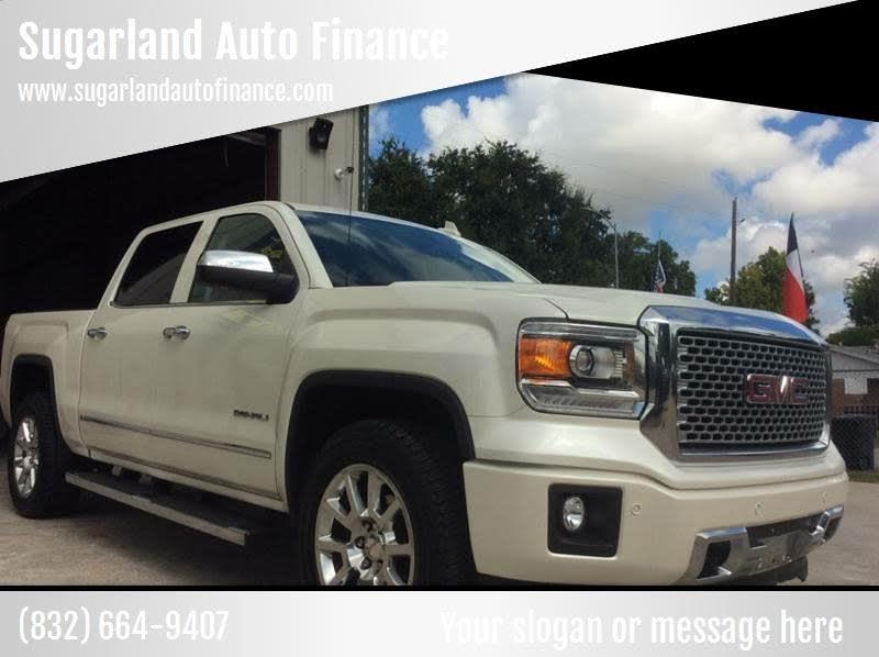 Sierra Auto Finance >> Used 2015 Gmc Sierra 1500 Denali Crew Cab Short Box 4wd For