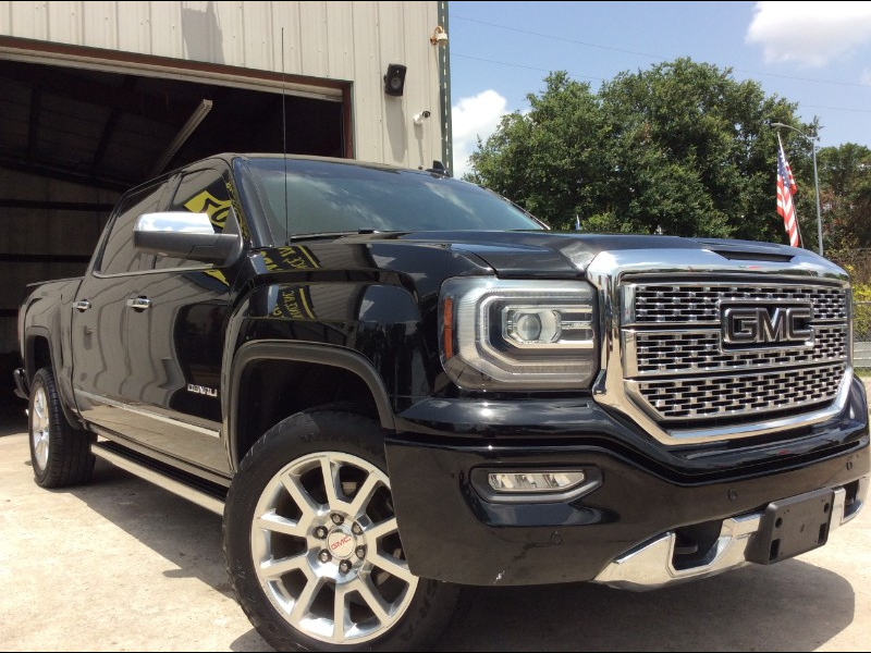 Sierra Auto Finance >> Used 2016 Gmc Sierra 1500 Denali Crew Cab Short Box 4wd For