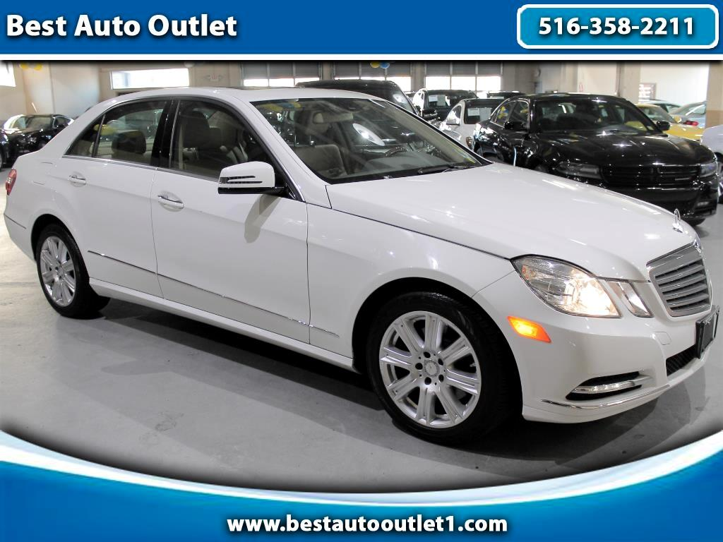 2013 Mercedes-Benz E-Class 4Dr Sdn E350 Luxury 4MATIC