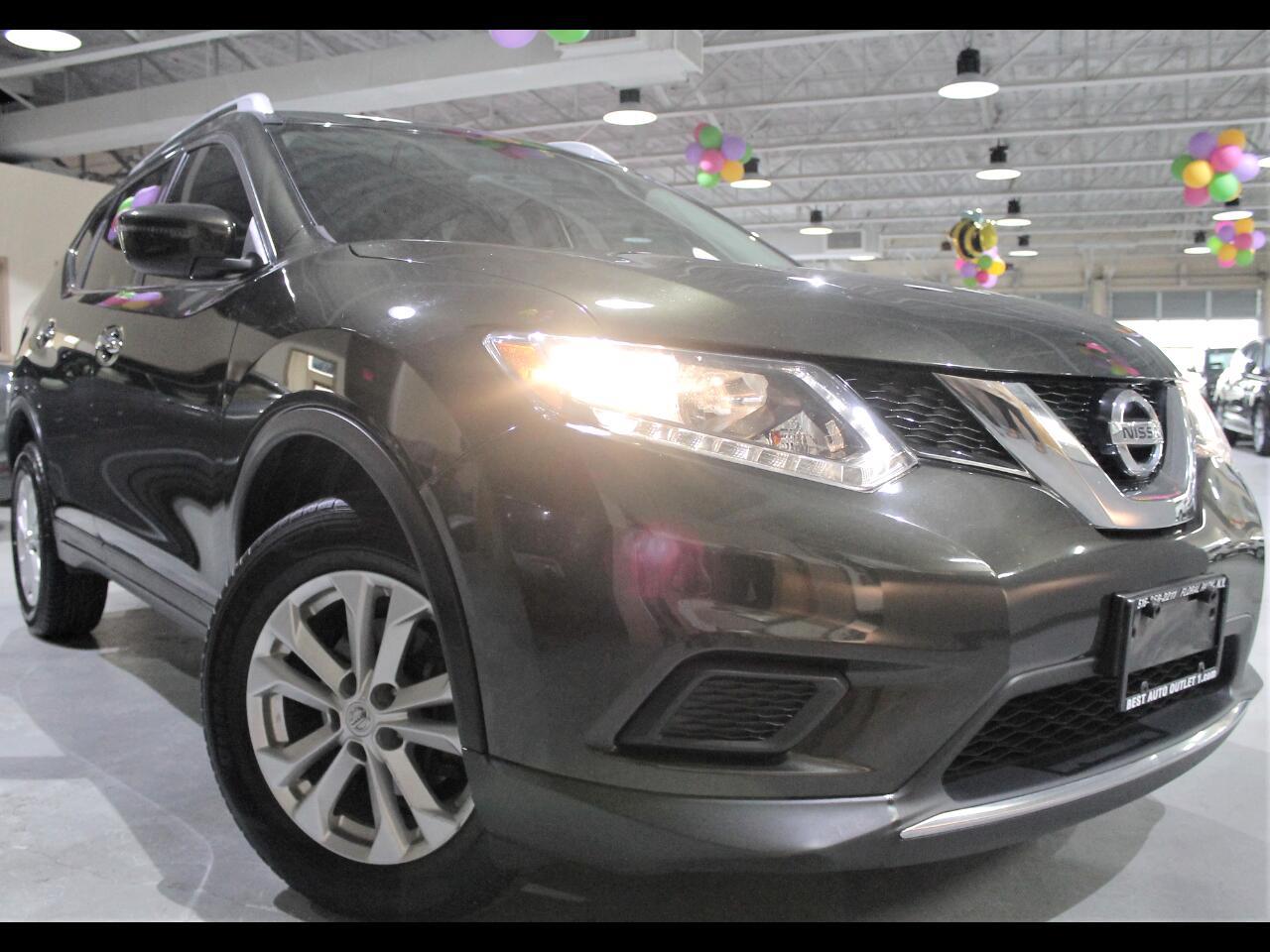 Nissan Rogue AWD 4dr SV 2016