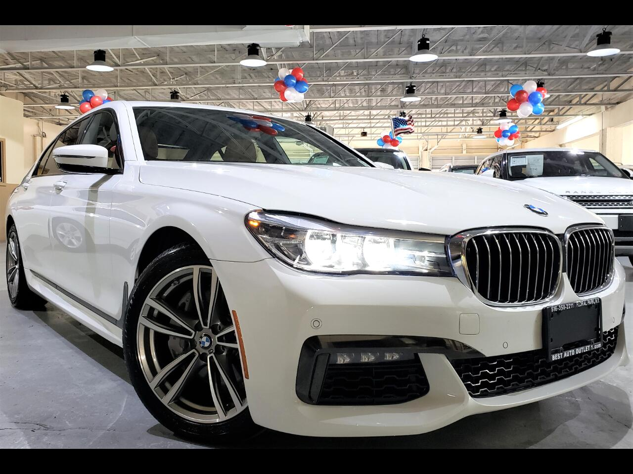 2019 BMW 7 Series 740i xDrive Sedan MSPORT