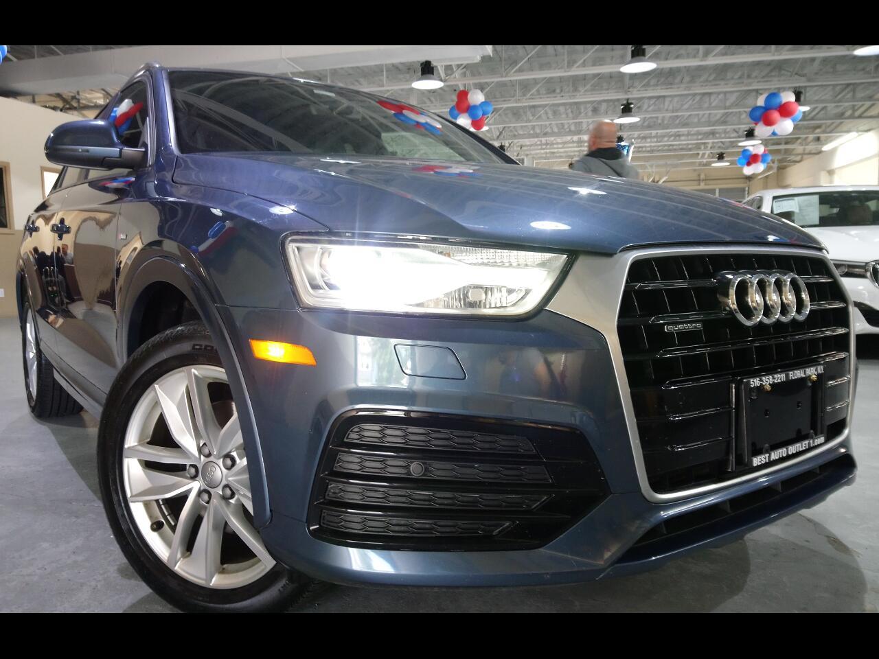 2018 Audi Q3 2.0 TFSI Sport Premium quattro AWD