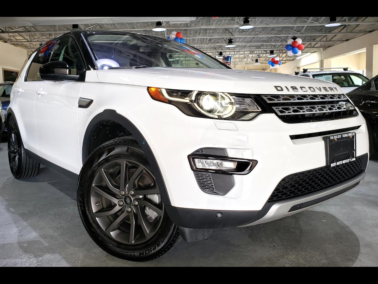2018 Land Rover Discovery Sport HSE 4WD