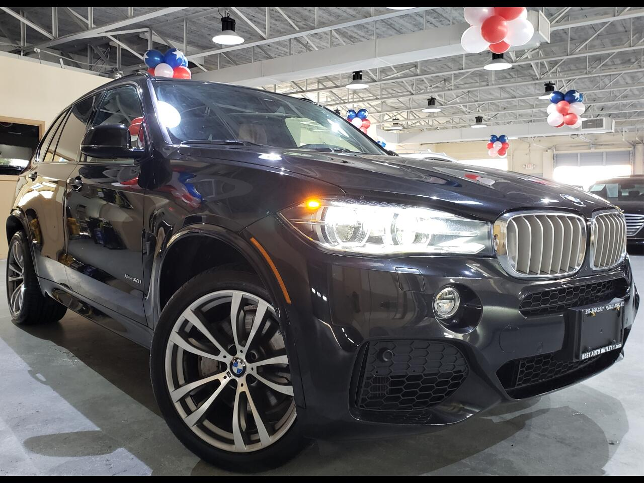 2017 BMW X5 xDrive50i MSport