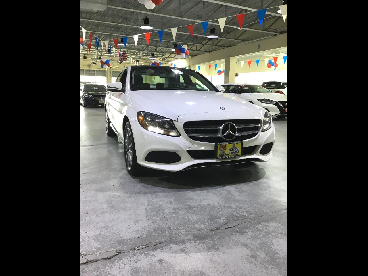 Mercedes-Benz C-Class C 300 4MATIC Sedan 2017