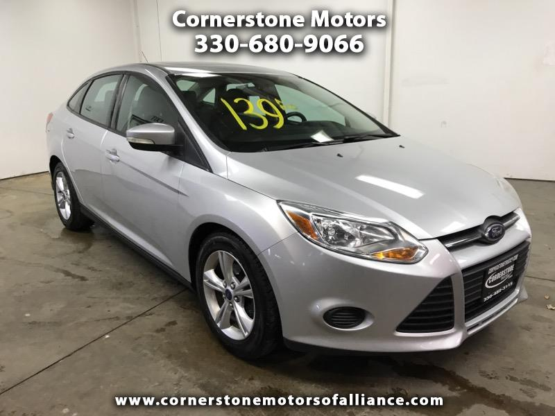 Used 2014 Ford Focus 4dr Sdn Se For Sale In Alliance Oh 44601