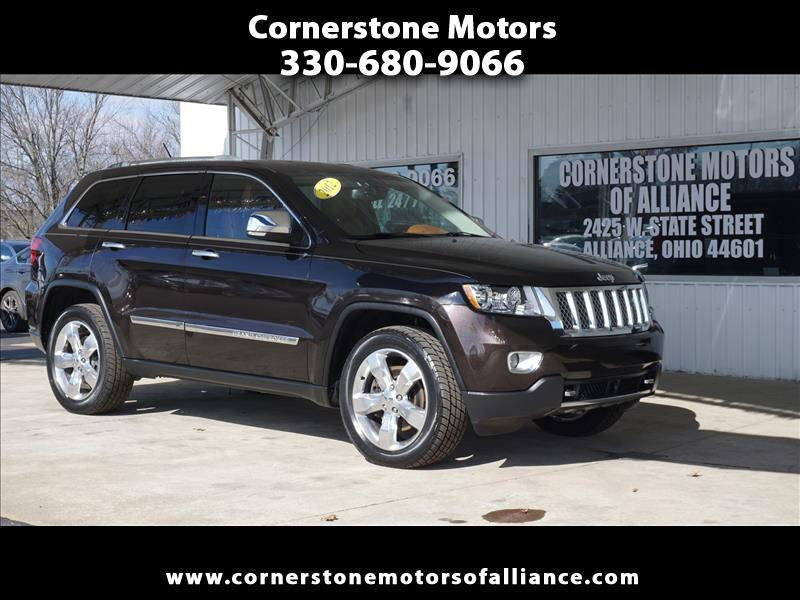 Jeep Grand Cherokee 4WD 4dr Overland 2012