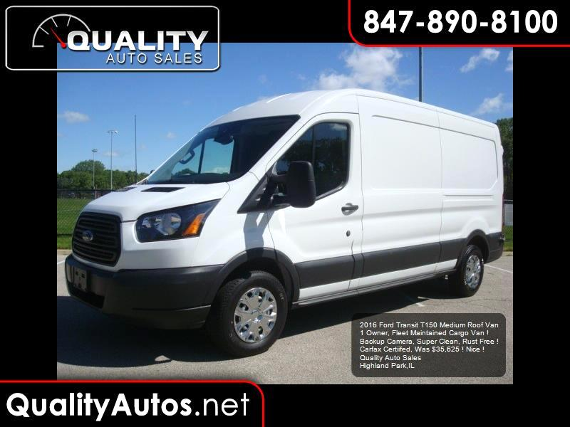 2016 Ford Transit 150 Van Med. Roof w/Sliding Pass. 148-in. WB