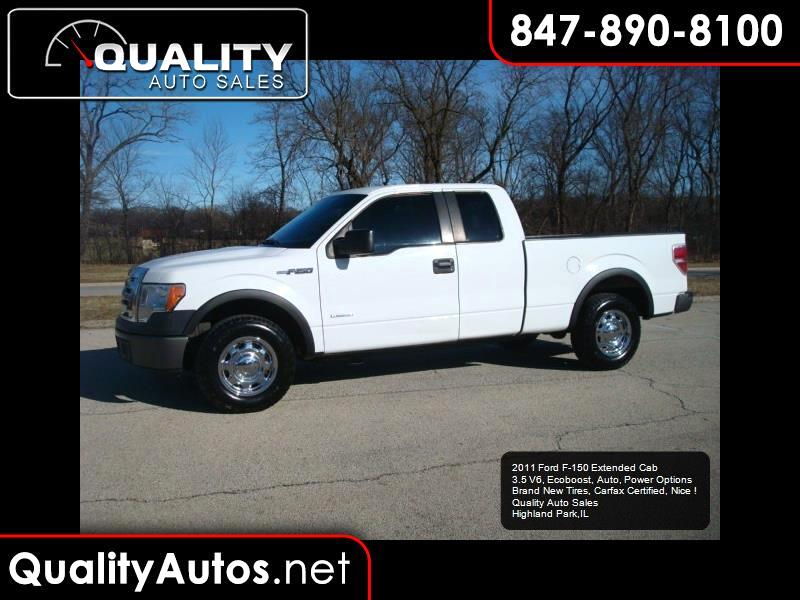 2011 Ford F-150 XL SuperCab 6.5-ft. Bed 2WD