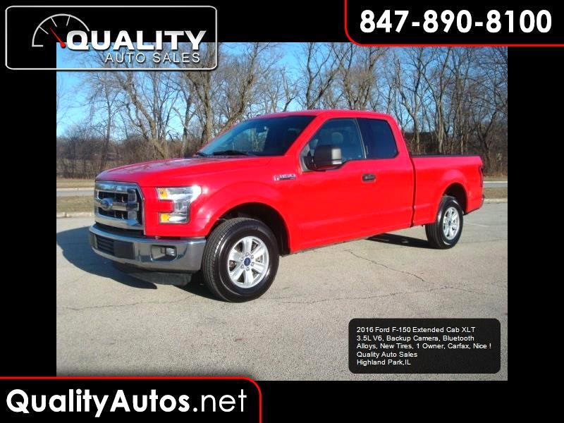 2016 Ford F-150 XLT SuperCab 6.5-ft. 2WD