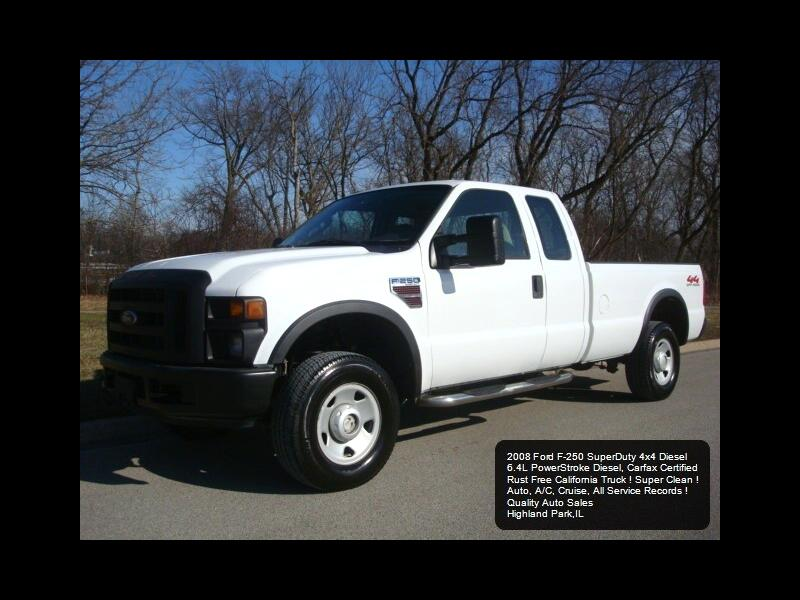 Ford F-250 SD XL SuperCab Long Bed 4WD 2008
