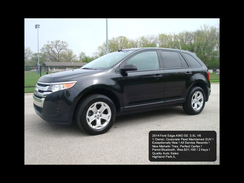 Ford Edge SE AWD 2014