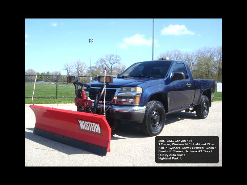 GMC Canyon Work Truck 4WD 2007