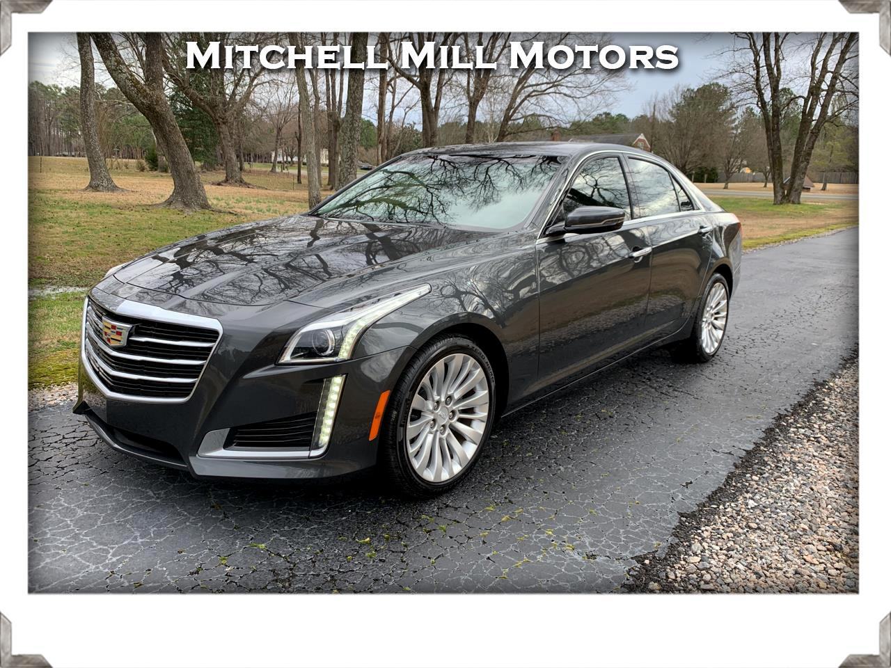 Cadillac CTS Sedan 4dr Sdn 3.6L Luxury Collection RWD 2016