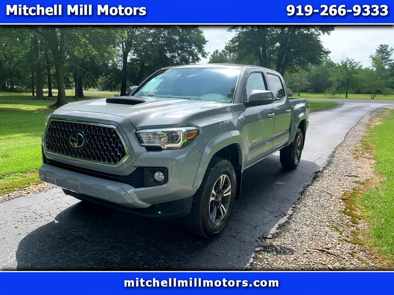 Toyota Tacoma 4WD TRD Sport Double Cab 5' Bed V6 AT (Natl) 2019