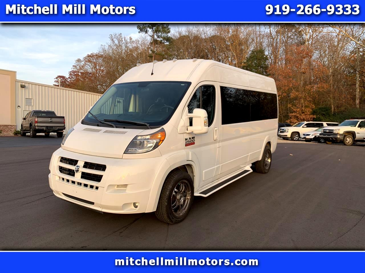 "RAM ProMaster Cargo Van 2500 Window Van High Roof 159"" WB 2015"