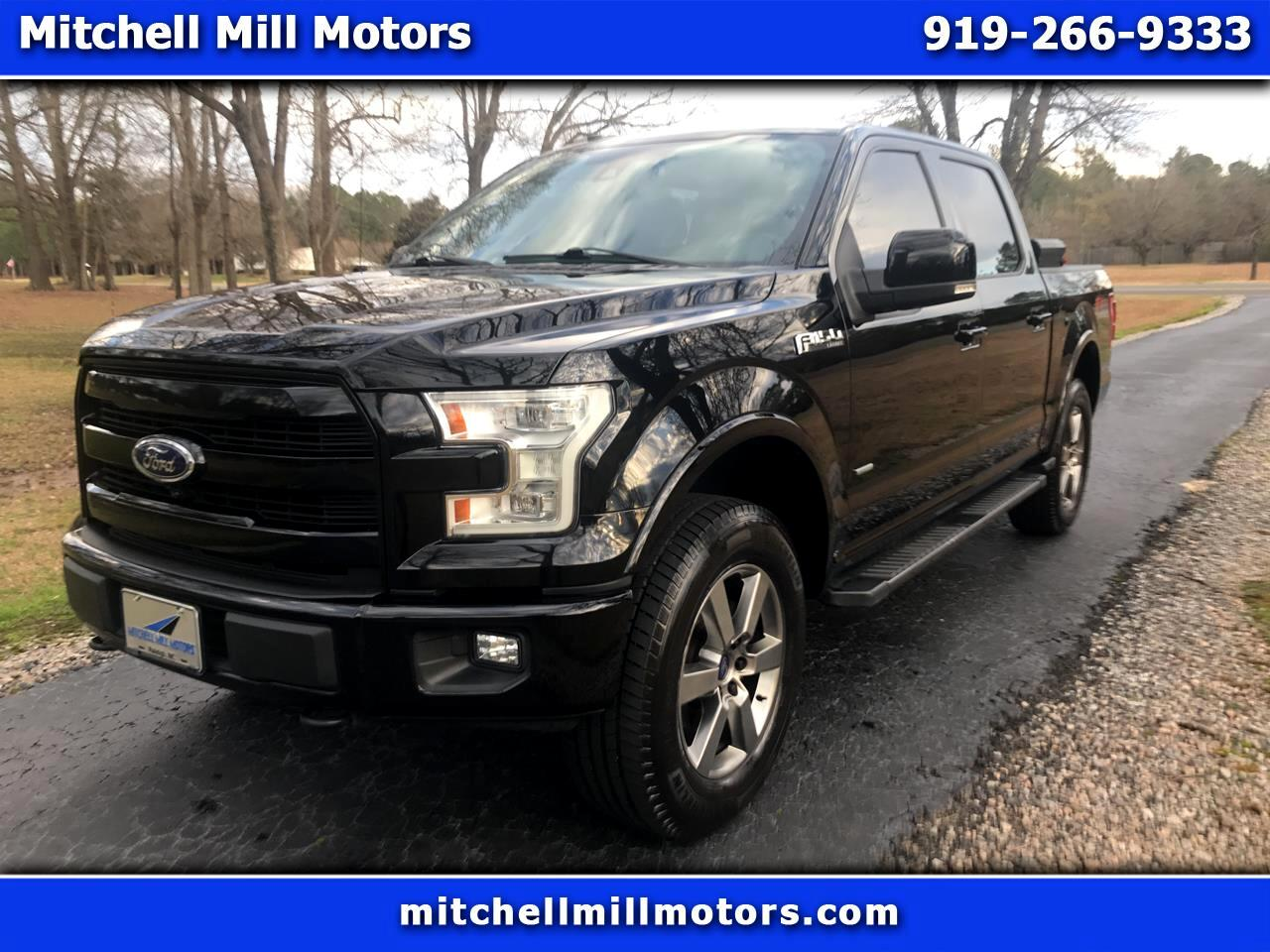 Ford F-150 Lariat SuperCrew 4WD 2017