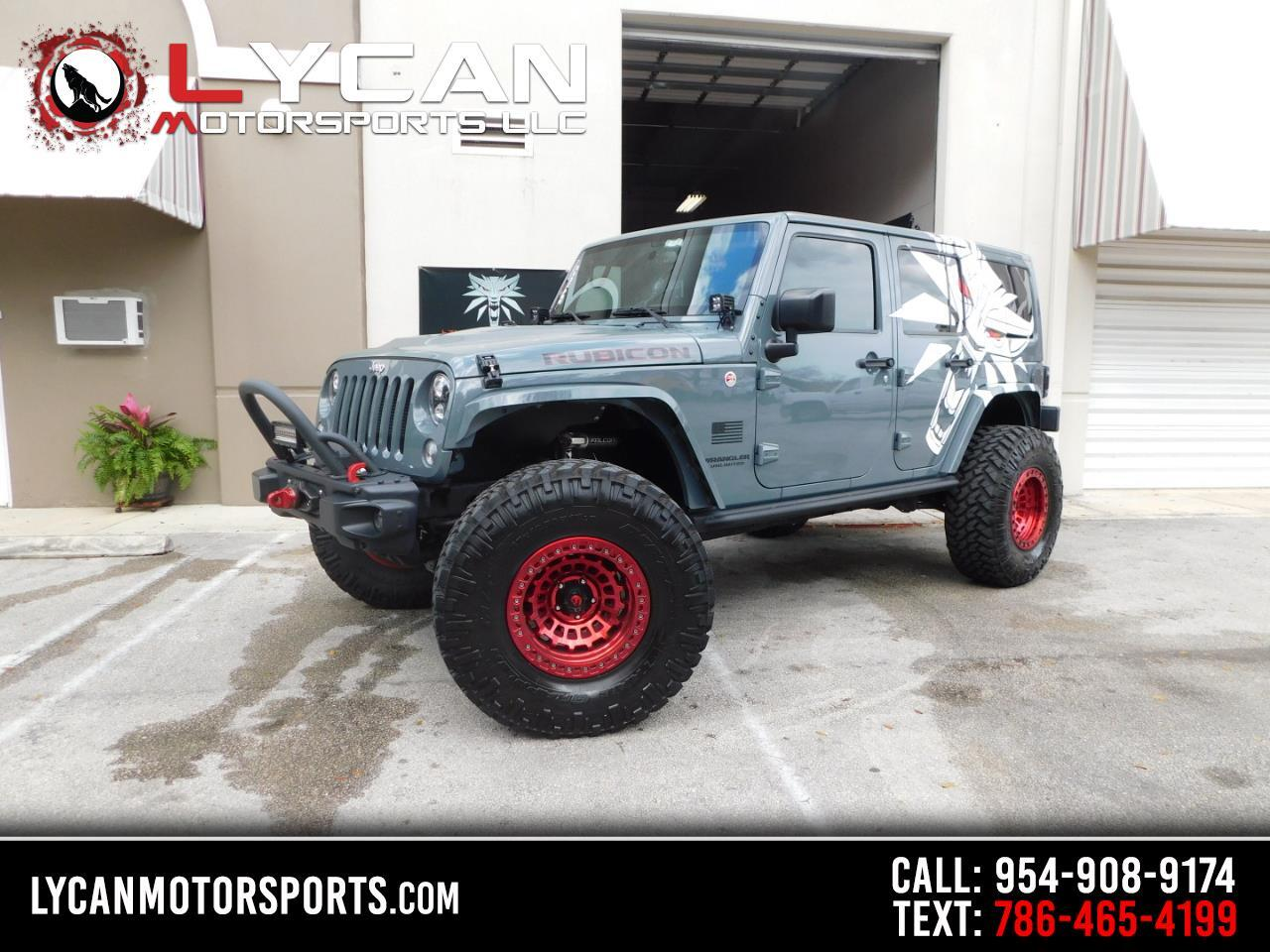 Jeep Wrangler Rubicon Hard Rock 4x4 *Ltd Avail* 2015