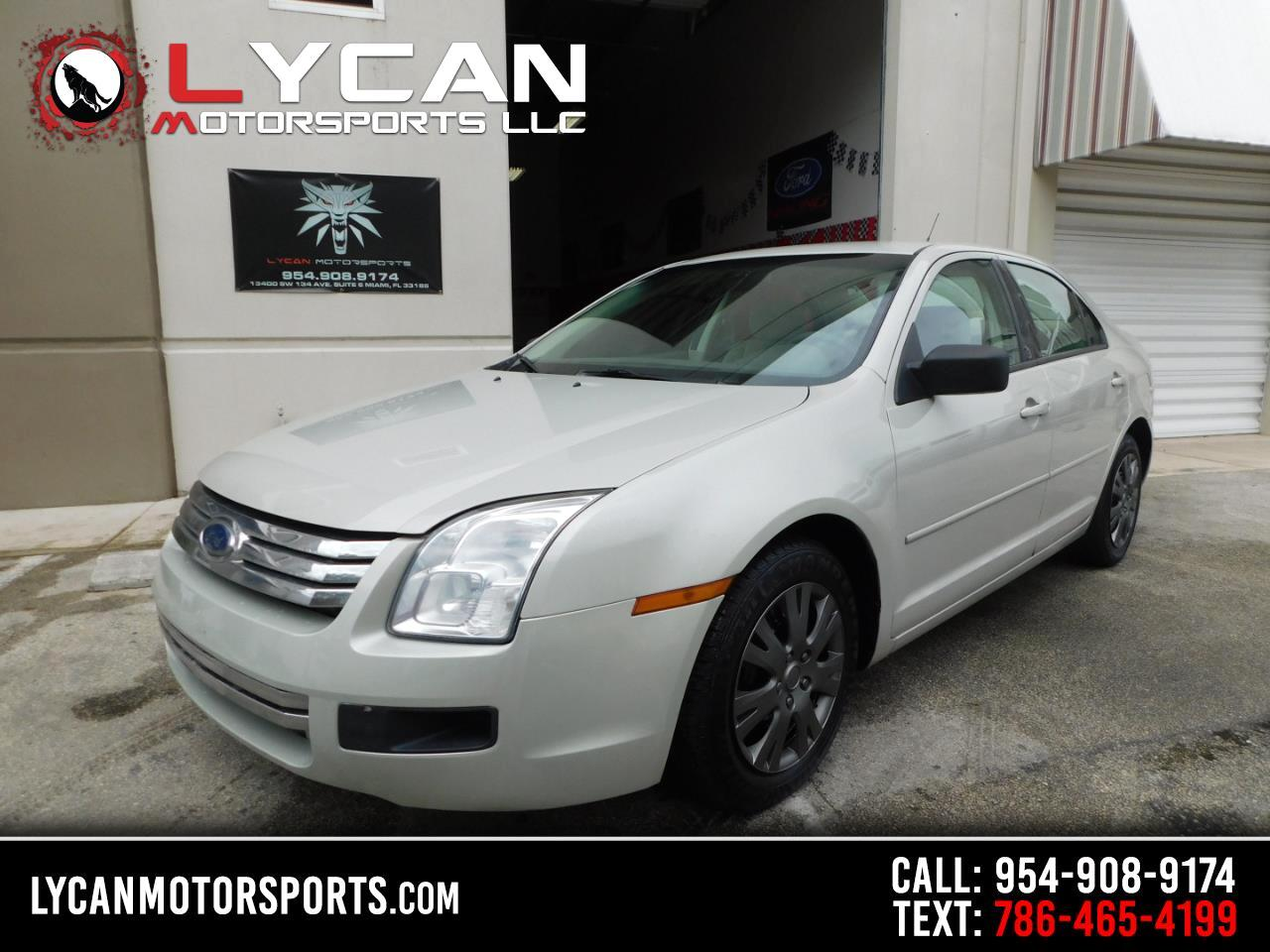 Ford Fusion S 2008