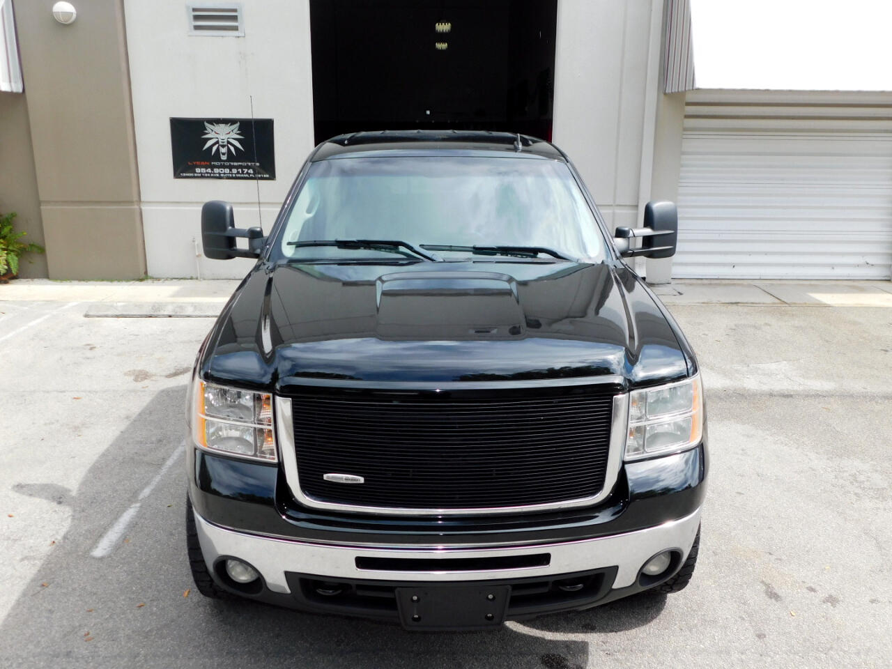 2009 GMC Sierra 2500HD SLT Crew Cab Long Box 4WD