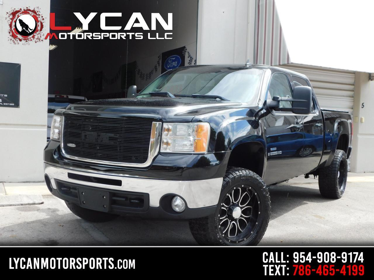 GMC Sierra 2500HD SLT Crew Cab Long Box 4WD 2009