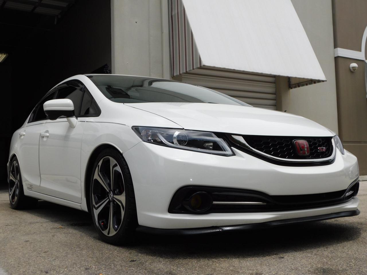 2015 Honda Civic Si Sedan 6-Speed MT