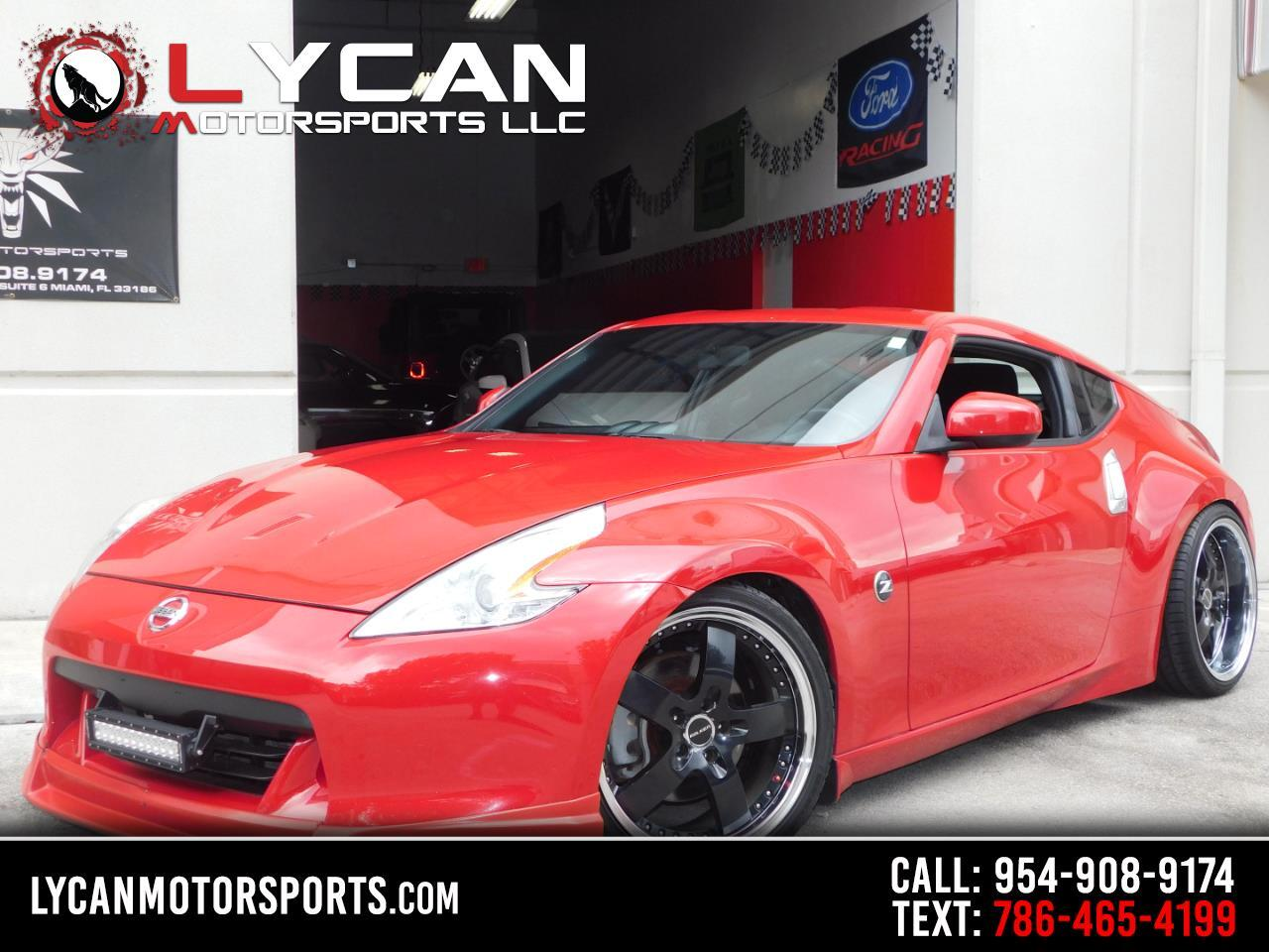 Nissan 370Z 2dr Cpe Manual Sport Tech 2009