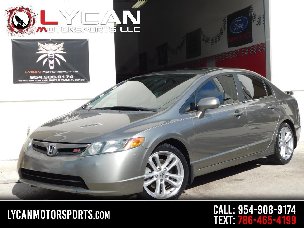 Honda Civic Si Sedan 2007