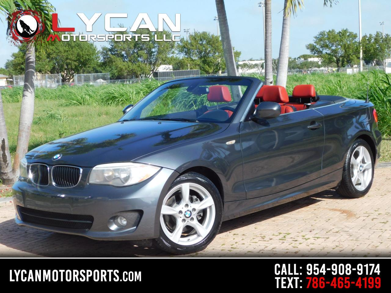 BMW 1-Series 128i Convertible 2013